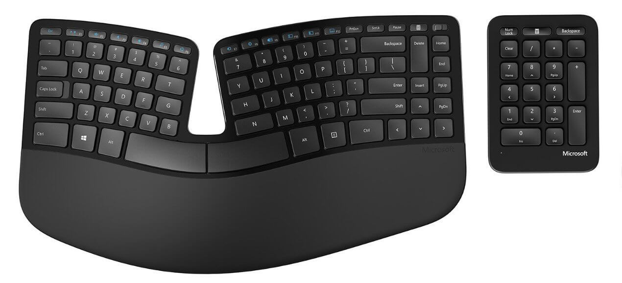 Clavier ergonomique de Microsoft