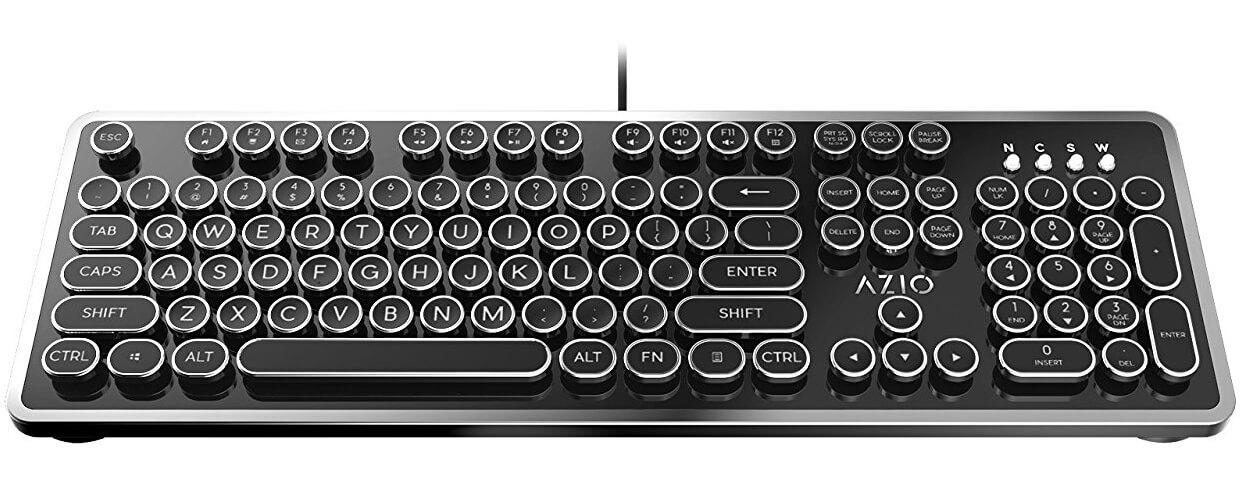 clavier mécanique rétro Azio