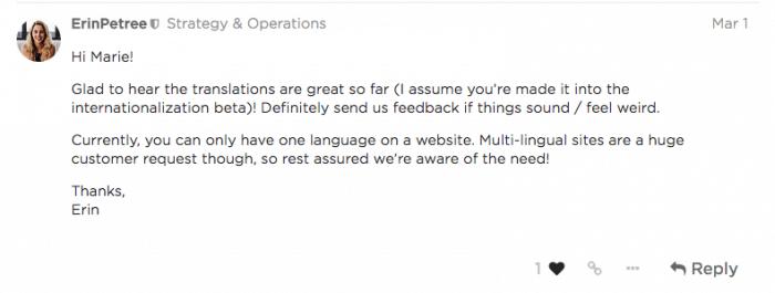 comment faire un site web en fran u00e7ais  bilingue avec
