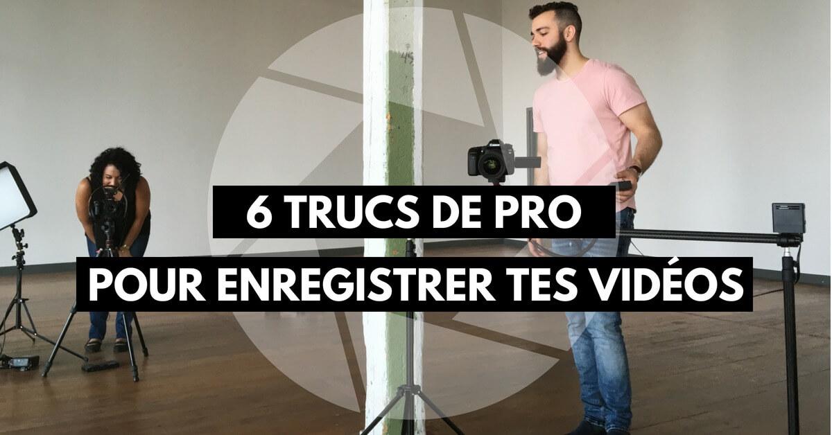 truc de pro pour créer des vidéos de formation