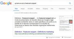 apparaitre en featured snippet grace aux questions