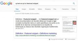 apparaitre en featured snippet grace aux questions