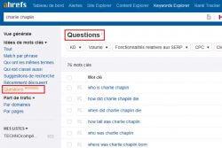comment trouver des questions pour ses mots clés google