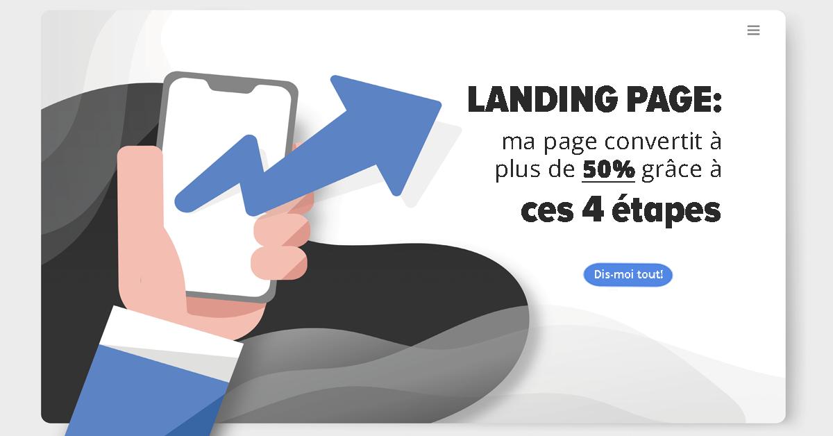 Comment rédiger une landing page