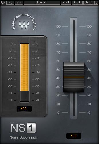 Waves NS1 Noise Suppressor Denoiser